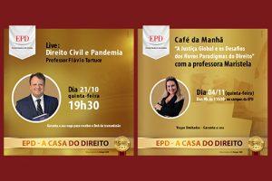 Inscreva-se para as próximas Master Classes da EPD
